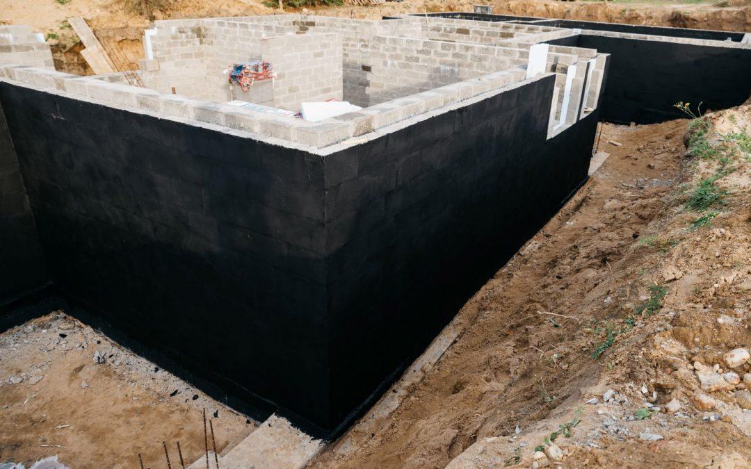 Hidroizolacija temeljev hiše – kaj morate vedeti